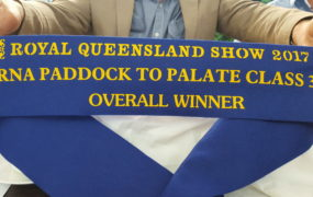 2017 RNA Paddock to Palate Class 37 – Overall Winner | Yaralla Droughtmasters